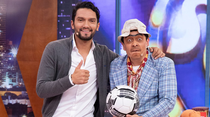 Alexandra Montoya y Abel Aguilar fueron protagonistas en 'The Suso's Show'